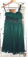 Ladies Size 8 Green One Shoulder Prom Dress Cocktail dress Size 8 by FEVER