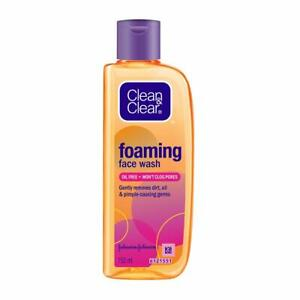 Clean & Clear Foaming Face Wash For Oily Skin, 150ml