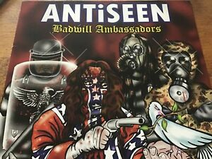 Antiseen - Badwill Ambassadors - LP Scary Records 2004 Punk EX