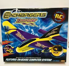 Air Hogs Vintage E-Chargers Intruder Radio Control 1:24 scale plane aircraft