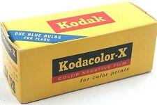 Vintage Kodak Kodacolor-X Color Film July 1967 Sealed Box For Display Only
