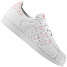 Baskets superstars rose pour femme