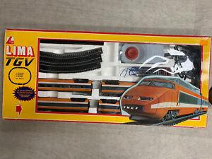 lima collection Coffret TGV  orange