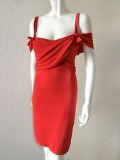 Vestido de Fiesta Chiara Boni Rojo Cóctel Vestido, de Diseñador S