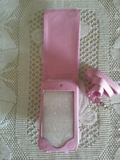 Ipod Touch 2g 3g case PINK belt loop / magnetic closure / shoulder strap