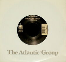 "PHIL COLLINS ""HANG IN LONG ENOUGH/Separate Lives (Live)"" ATL 87800 (1989) 45rpm"