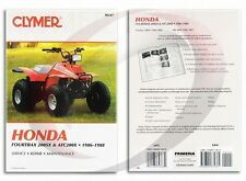 Clymer Honda Fourtrax 200SX & ATC200X 1986-1988 Service Manual