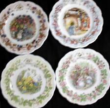 Royal Doulton BRAMBLY HEDGE 4 Salad Plates Each Season A+ CONDITION