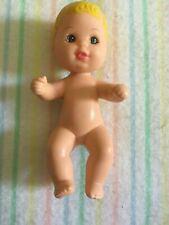 Mattel Barbie Happy Family Doll Baby Krissy Bright  Blond Hair 1973 Nude