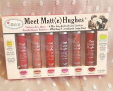 MEET MATTE HUGHES theBalm Exclusive New 6 Mini Long-Lasting Lipsticks Set USA