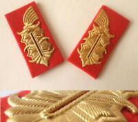 Deutscher General DDR STASI NVA Uniform -Kragenspiegel German army collar tabs