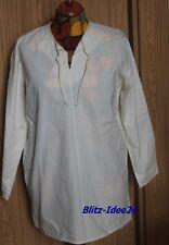 Larp - einfaches Mittelalter Hemd - Gr. M - Baumwolle - natur