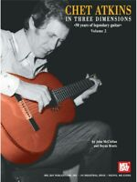 Chet Atkins in Three Dimensions Volume 2 Country Guitar SHEET MUSIC BOOK