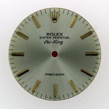 Original Rolex Air-King Precision 34mm 5500 Silver Stick Dial 2/Tone #B9