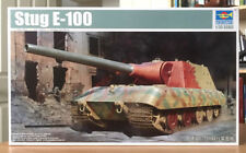 Trumpeter 1/35 Stug E-100 Tank Destroyer Model 09542, Free Ship, Ships From USA