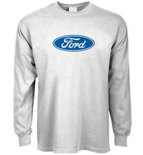 Long sleeve t-shirt Ford logo decal tee mustang trucks gear men's clothing