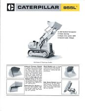 Equipment Brochure - Caterpillar - 955L - Track-Type Loader - c1971 (E3850)