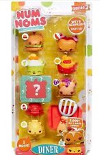 Num Noms Series 2 - Scented 8-Pack - Diner Diner Food. ***BRAND NEW***