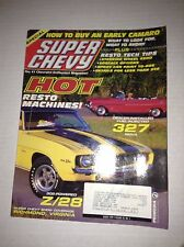 Super Chevy Magazine Fuel Injected Resto Machines March 1999 030317NONRH