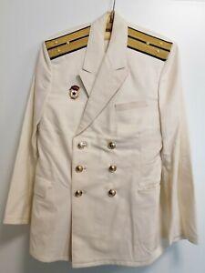 Uniform Jacke Hose Marine U-boot UdSSR Russland Sowjetarmee Sowjetunion Weiß