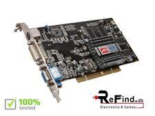 SCHEDA VIDEO GRAFICA PCI ATI RADEON SAPPHIRE 7000 64MB DDR VGA PC E MAC G3 G4 G5