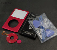Red U2 Faceplate Housing Back Case Red Clickwheel for iPod 7th Classic 160GB