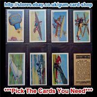 ☆ Barratt & Co - History of the Air 1959 (G) Cream Back *Please Select Card*