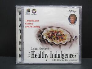 Key Lynn Fischer's Healthy Indulgences, PC, CD-ROM, WIn 3.1 +, MS DOS 5.0 +, '96