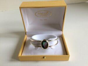 Irish adjustable bangle bracelet Meab Enamels Ireland jewelry Celtic art gift