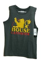 Game of thrones Youth's  NEW LARGE graphic Sleeveless T-shirt Crew-neck (#j5