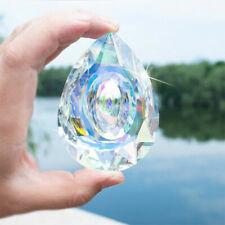 Magic Rainbow Crystal Suncatcher Chandelier Lamp Prism Hanging Pendant Decor 1PC
