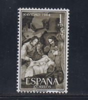 ESPAÑA (1964) MNH NUEVO SIN FIJASELLOS - EDIFIL 1630 NAVIDAD