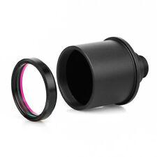 "SVBONY 1.25"" UV/IR Block for Filters CCD Camera Webcam Adapter for videos&Planet"