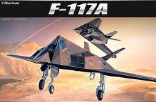 Academy Plastic Model Kit 1/72 F-117A Stealth Fighter w/ Toxic Avenger 12475 NIB