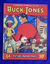 old British Comic book Cowboy comics library all in pictures 174 Buck Jones #566