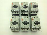 Sprecher+Schuh KTA7-25S-1.6A Motor Circuit Breaker 1.6A Cat.A 50/60Hz Lot of 6