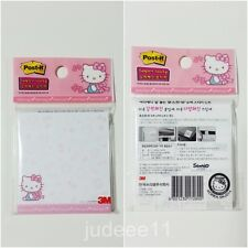 2ea Hello Kitty Post-it 3M Note pads memo sticky notes Office Cute pen pink