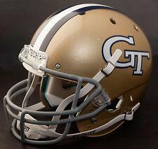 GEORGIA TECH YELLOW JACKETS 1972-1973 Schutt Authentic GAMEDAY Football Helmet