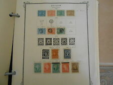 Salvador Mostly Mint Collection Mounted In Scott Album On Scott Pages. #02 Salv