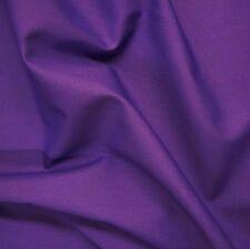 Plain Purple Poly Cotton Fabric Cadbury P/Metre