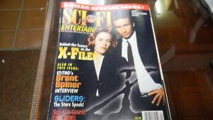 Sci-Fi Magazine April 1997 X- Files Scenes  0627E