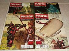 Deadpool Killustrated 1 2 3 4 Full Set 1st Prints Marvel Bunn