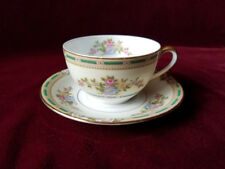 Noritake ALICIA Flat Cup and Saucer, c. 1921