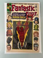 Fantastic Four #54 VF-F Marvel Silver Age Inhumans Cameo 3rd Black Panther Kirby
