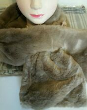 """Cuddly soft thick neck warmer scarf great gift 39"""" x 6"""""""