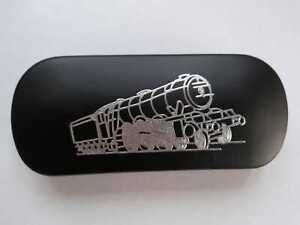STEAM TRAIN 5 RAILWAY brand new Metal Glasses Case ideal gift for Christmas