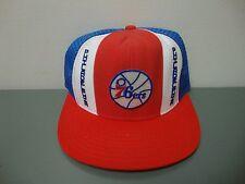 NOS Vintage Knit Hat    Philadelphia 76ers  Sixers