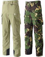 Wychwood Cargo Camo & Green Multi Zipped Pocket Hardwearing Fishing Trousers