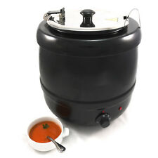vidaXL Electric Soup Kettle Kettle Charcoal Barbecue 10 L P9C4