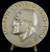 Médaille 96mm à Joseph Ducuing chirurgien Toulouse Marc Saint Saëns 1963 medal